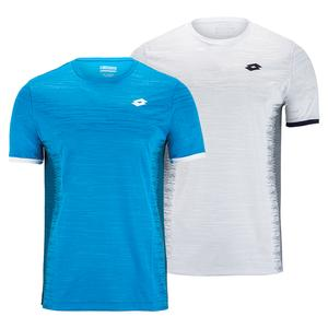 Men`s Top Ten II Printed Tennis Top