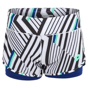 Women`s Top Ten Print Tennis Short