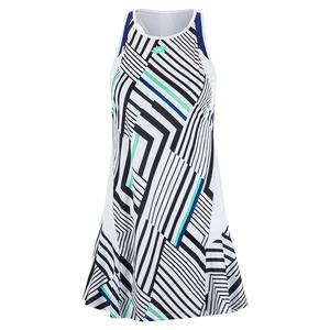 Women`s Top Ten Print Tennis Dress