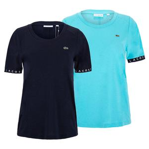 Women`s Tape Tennis Short Sleeve