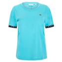 Women`s Tape Tennis Short Sleeve P6Q_HAITI_BLUE/NVY