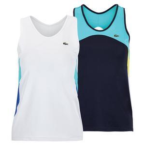 Women`s Color Block Tennis Tank