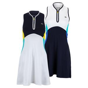 Women`s Color Block Tennis Dress