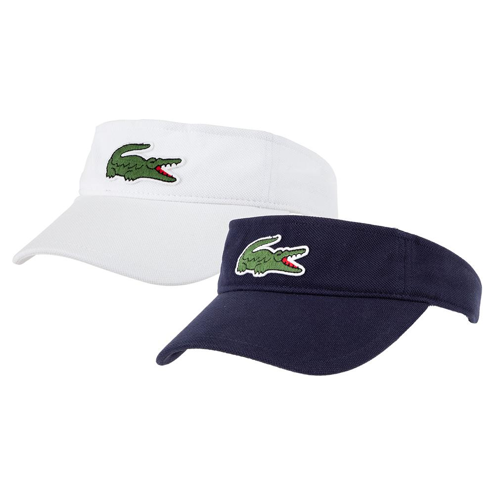 Men's Miami Open Solid Big Croc Tennis Visor