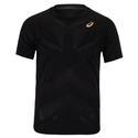 Men`s Elite Short Sleeve Tennis Top 001_PERF_BLACK