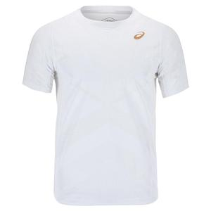 Men`s Elite Short Sleeve Tennis Top