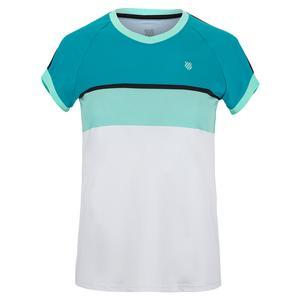 Women`s Hypercourt Stripe Tennis Tee