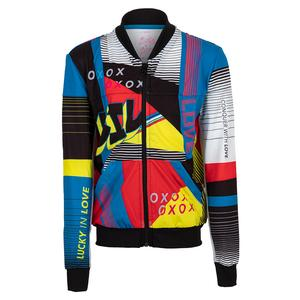 Girls` Future Retro Bomber Tennis Jacket Black