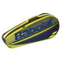 Essential Club 3 Pack Tennis Bag 142_BLACK/YELLOW