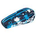 Essential Club 3 Pack Tennis Bag 164_BLACK/BL/WHITE