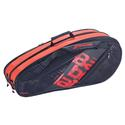 Team Expandable Tennis Bag 144_BLACK_RED