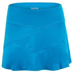 Women`s Blue Bayou Tennis Skort Peacock Blue