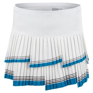 Women`s I`m So Fly Pleated Tennis Skort White