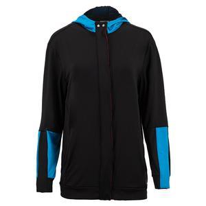 Women`s Midi Varsity Tennis Jacket Black