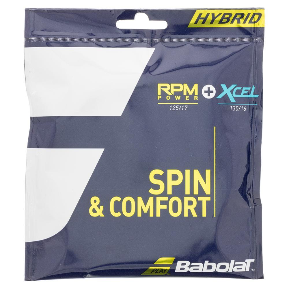 Rpm Power 17g + Xcel 16g Hybrid Tennis String