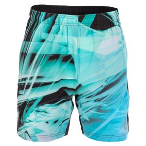 Men`s Legacy Woven Tennis Short Shattered