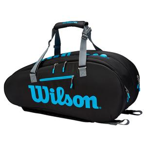 Ultra 9 Pack Tennis Bag Black and Blue