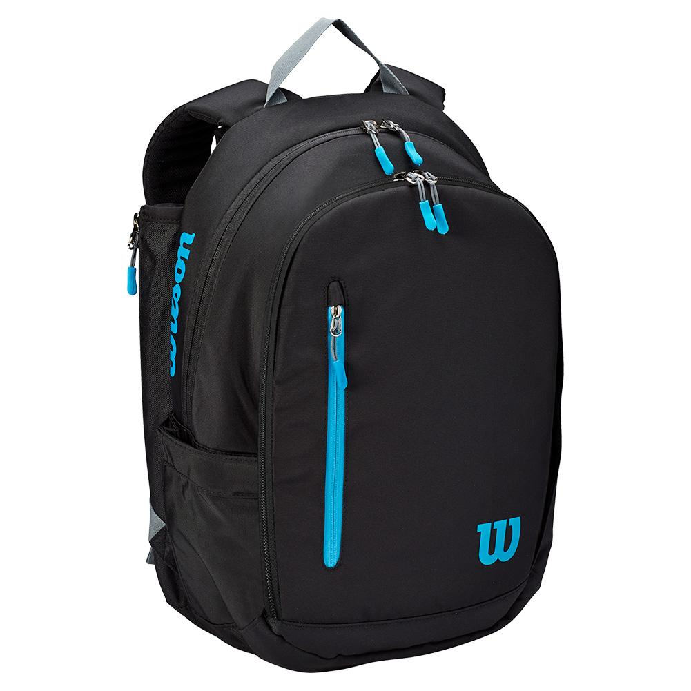 Ultra Tennis Backpack Black And Blue