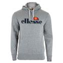 Men`s SL Gottero Hooded Tennis Sweatshirt 079_GREY_MARL