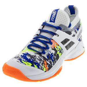 Men`s Propulse Rage All Court Tennis Shoes White and Rabbit