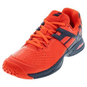 Juniors` Propulse All Court Tennis Shoes Geraldine and Blue