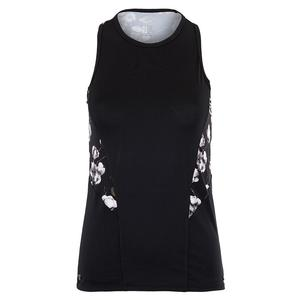 Women`s Diamond Tennis Tank Onyx