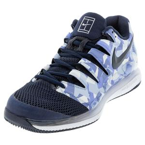Men`s Air Zoom Vapor X Tennis Shoes Royal Pulse and Obsidian