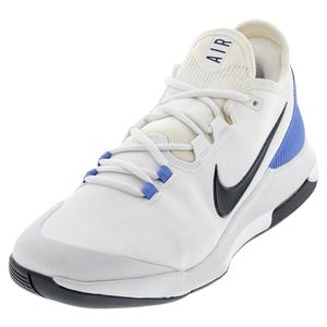 Men`s Air Max Wildcard Tennis Shoes White and Royal Pulse