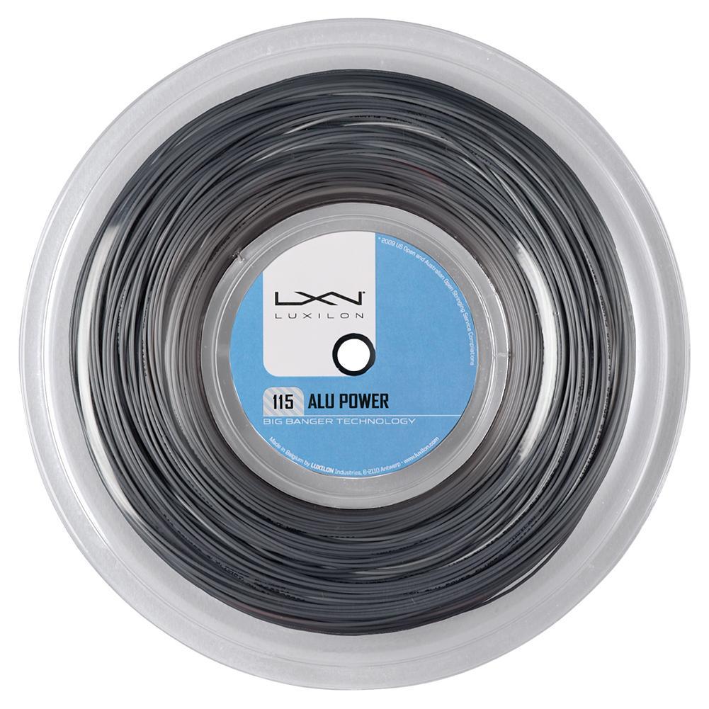 Alu Power 115 Silver Tennis String Reel