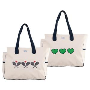 Women`s Love All Court Tennis Bag