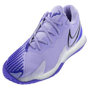 Men`s Air Zoom Vapor Cage 4 Tennis Shoes Purple Pulse and Black