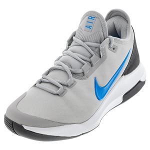 Men`s Air Max Wildcard Tennis Shoes Light Smoke Gray and Blue Hero