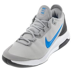 Men`s Air Max Wildcard Tennis Shoes Light Smoke Gray and Blue Hero