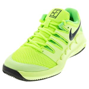 Juniors` Vapor X Tennis Shoes Ghost Green and Barely Volt