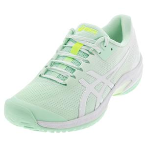 Women`s Court Speed FF Limited Edition Tennis Shoes Mint Tint and White