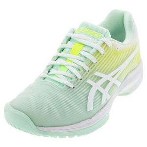 Women`s Solution Speed FF Limited Edition Tennis Shoes Mint Tint and White