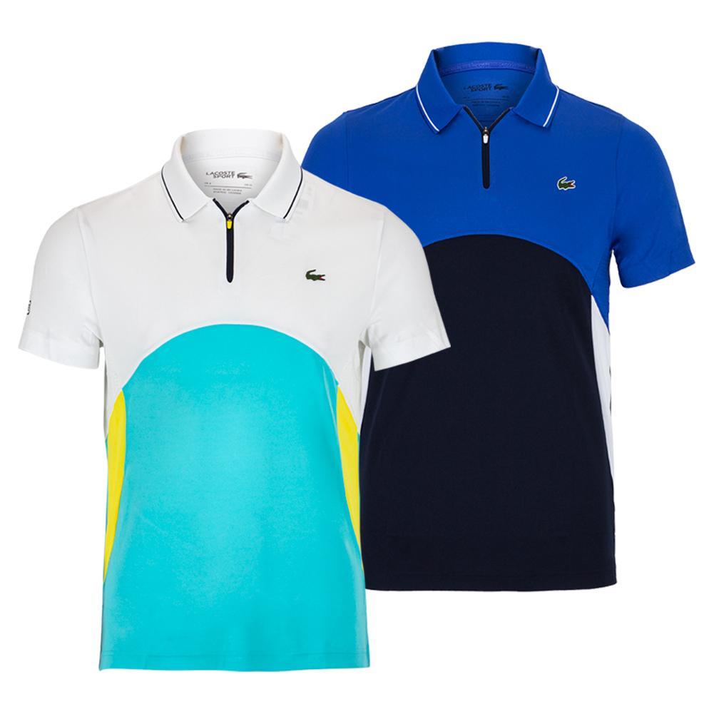 Men's Color Block Tennis Polo