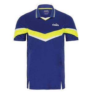 Men`s Short Sleeve Tennis Polo
