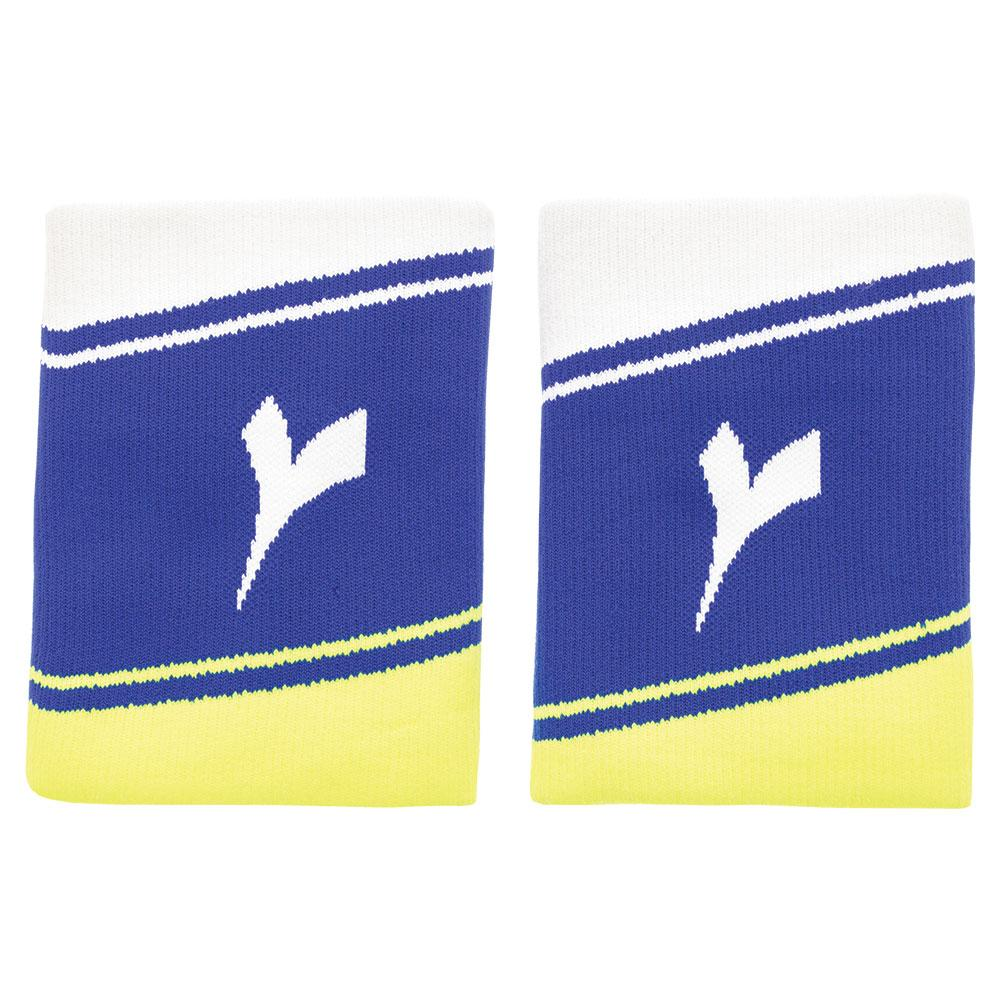 Wide Logo Tennis Wristbands