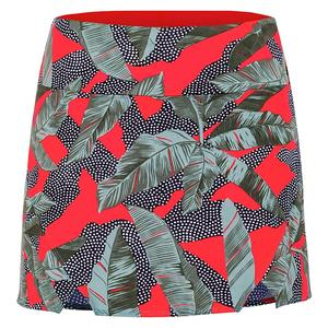 Women`s Mica 14.5 Inch Tennis Skort Palm Court