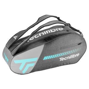 Tempo 6R Tennis Bag Gray and Teal