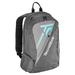 Tempo Tennis Backpack Gray and Teal
