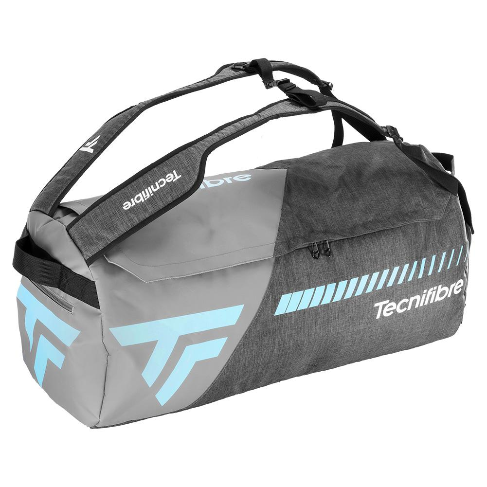 Tempo Rackpack L Tennis Bag Gray And Teal