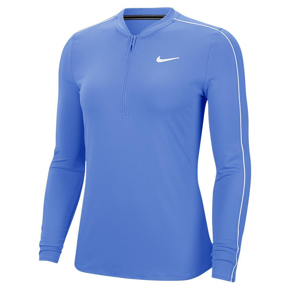 Women's Court Dry Half Zip Long Sleeve Tennis Top