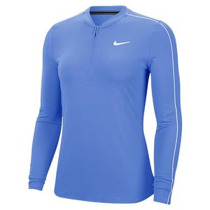 Women`s Court Dry Half Zip Long Sleeve Tennis Top
