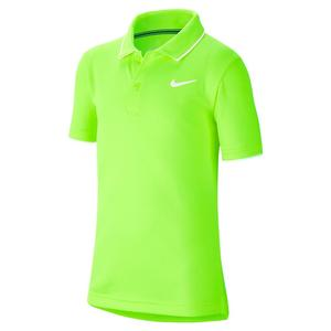 Boys` Team Court Dry Tennis Polo