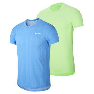 Men`s Court Challenger Short Sleeve Tennis Top