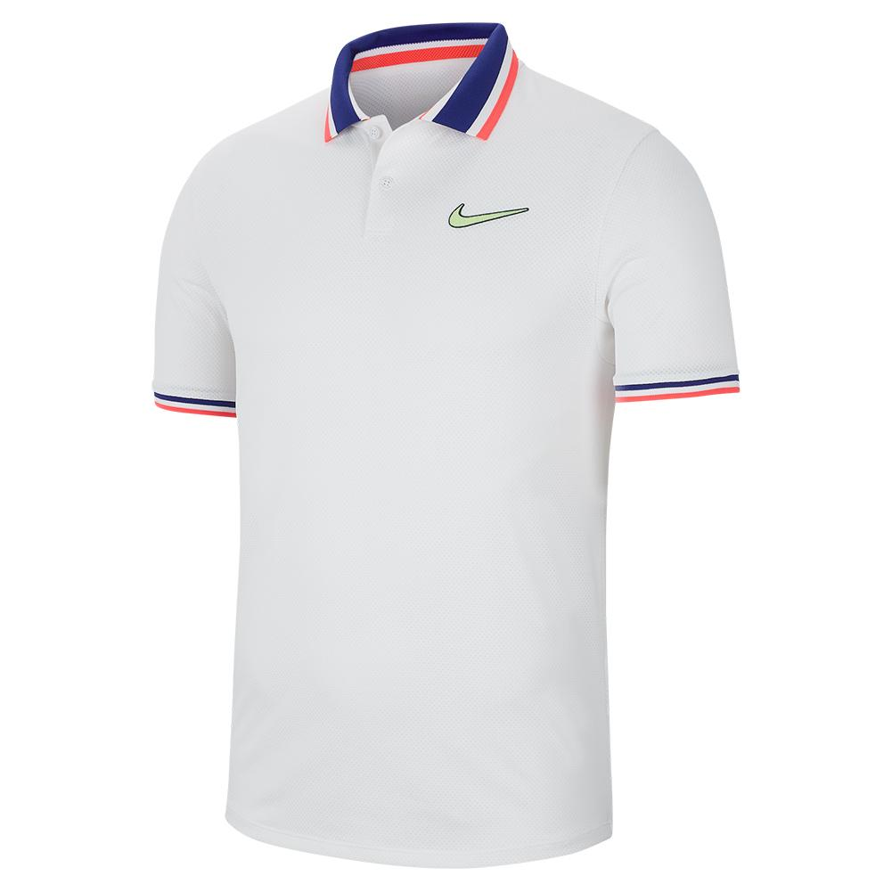 cualquier cosa Facturable cualquier cosa  Nike Men`s Paris Team Court Slam Tennis Polo | Tennis Express