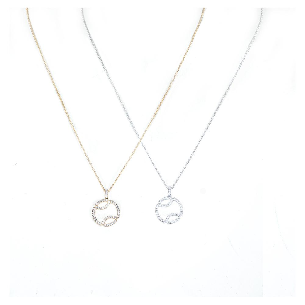 0.25ct Diamond Tennis Necklace