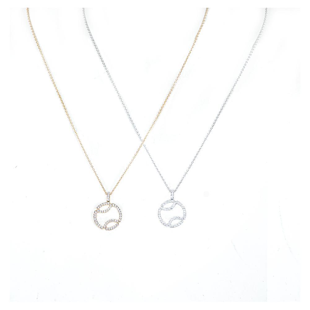 Cubic Zirconia Tennis Necklace